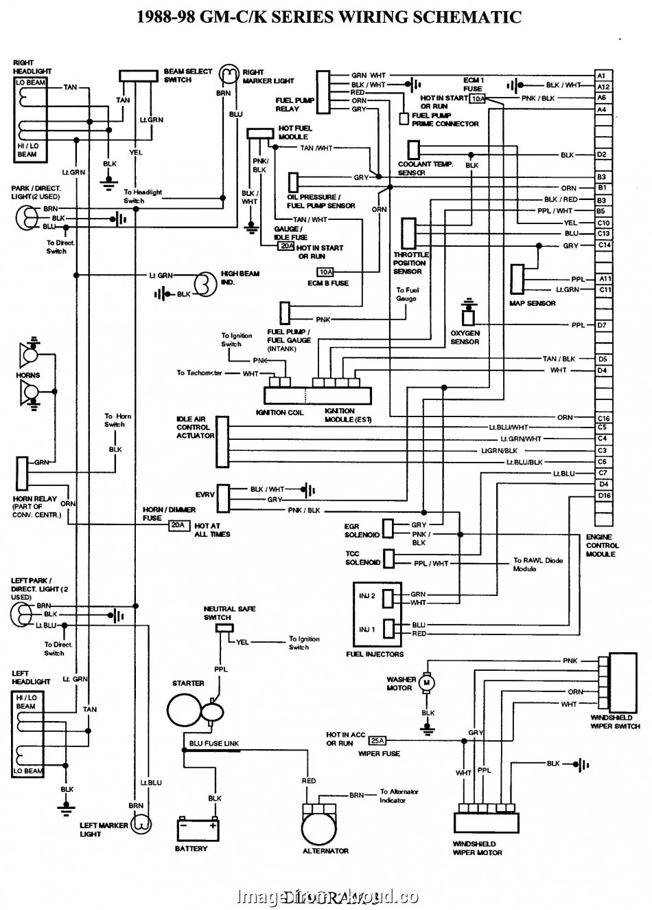 Toyota Wiring Diagrams Color Code On Toyota Starter Wiring Diagrams