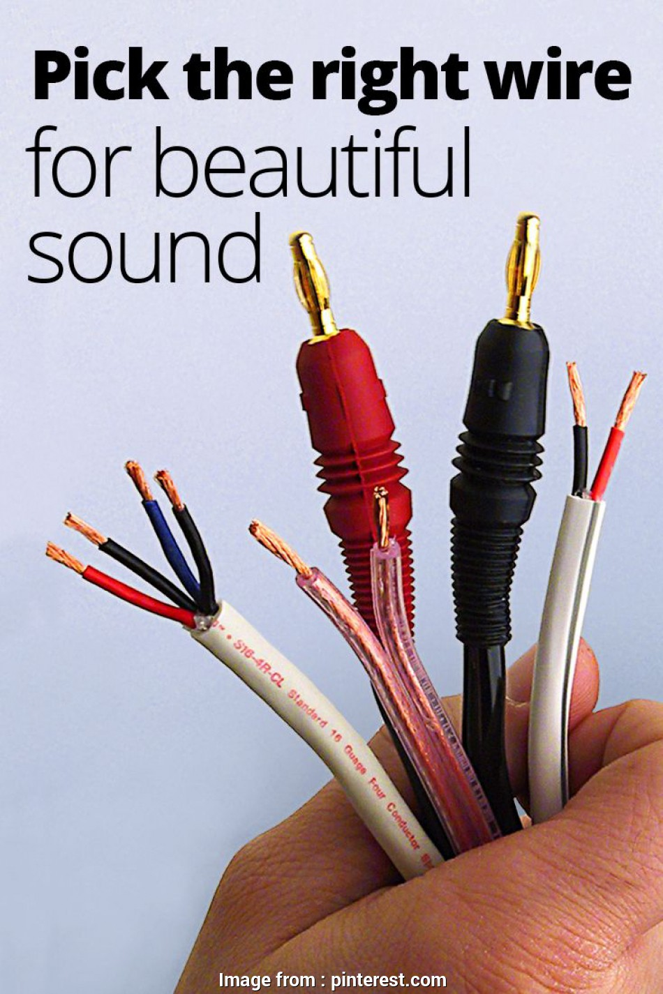 speaker wire gauge home theater speaker wire guide:, to choose, right gauge,