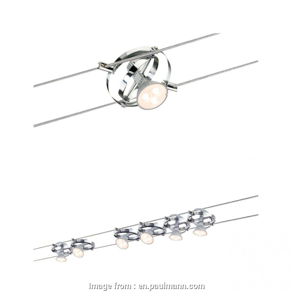 spotlights on wire track Cable System,, and halogen design, Paulmann Lighting Spotlights On Wire Track Top Cable System,, And Halogen Design, Paulmann Lighting Ideas