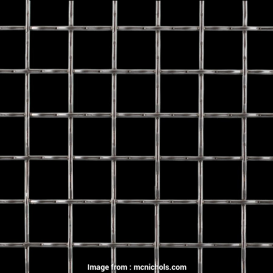 square weave wire mesh Square, Wire Mesh, Galvanized, 32011200, McNICHOLS 8 Brilliant Square Weave Wire Mesh Collections