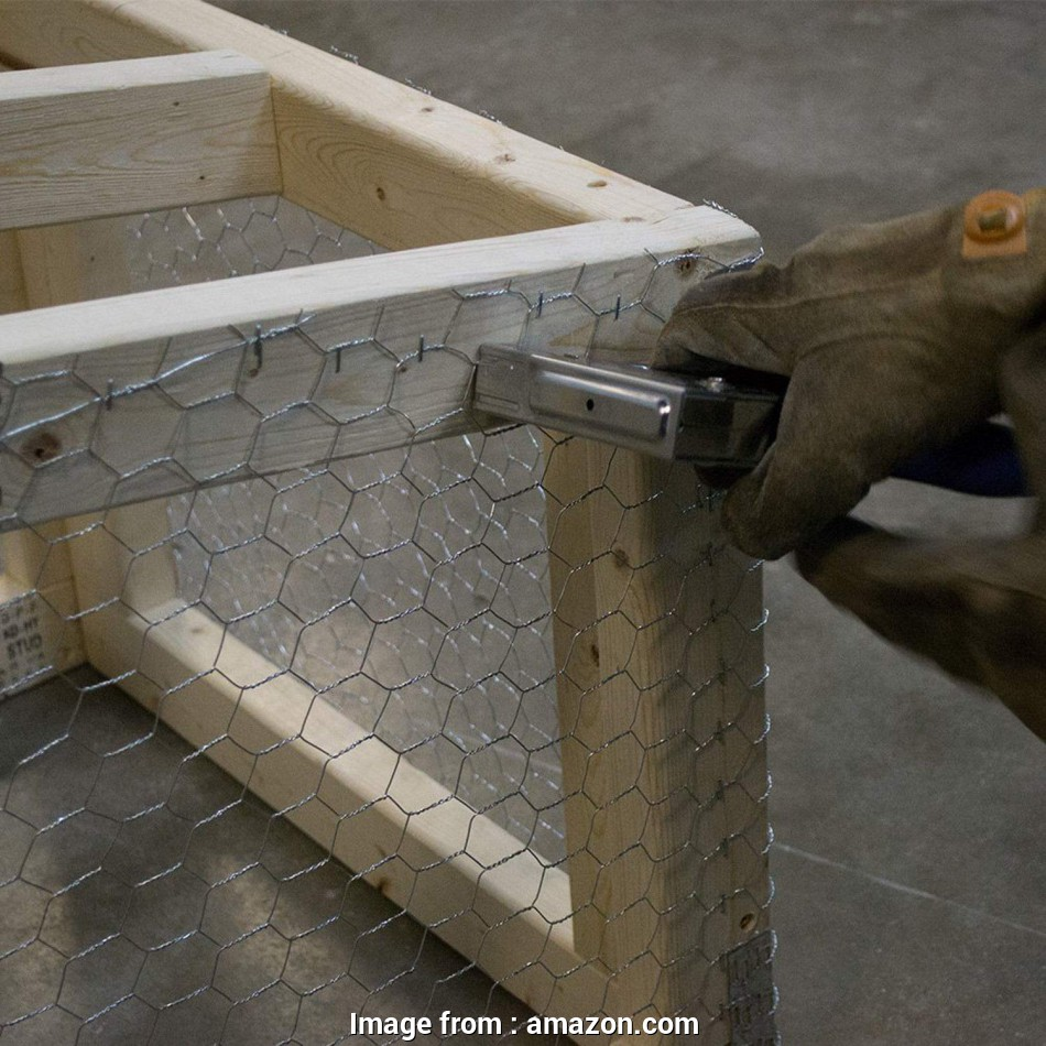 stainless steel hex wire mesh Amazon.com : MOCCO, x, Galvanized Hexagonal Fence Poultry, Netting, 2