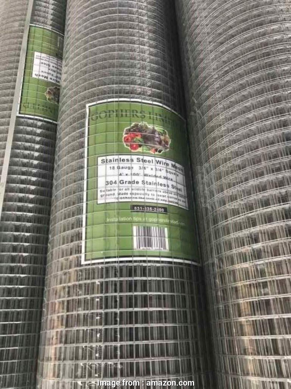 stainless steel wire mesh for gophers Amazon.com : Gophers Limited Stainless Steel Wire Mesh 18 Gauge,, Inch Square,, Foot x 48 inch : Garden & Outdoor 13 Best Stainless Steel Wire Mesh, Gophers Galleries