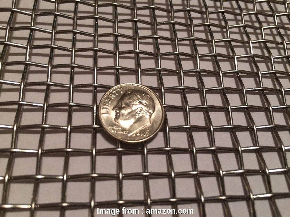 stainless steel woven wire mesh screen Amazon.com: Quality Stainless Steel Mesh, t-304 Stainless Steel Mesh,#4 .047 Wire,Cloth,Screen,Woven Wire, Stainless Steel Wire Mesh, X 18