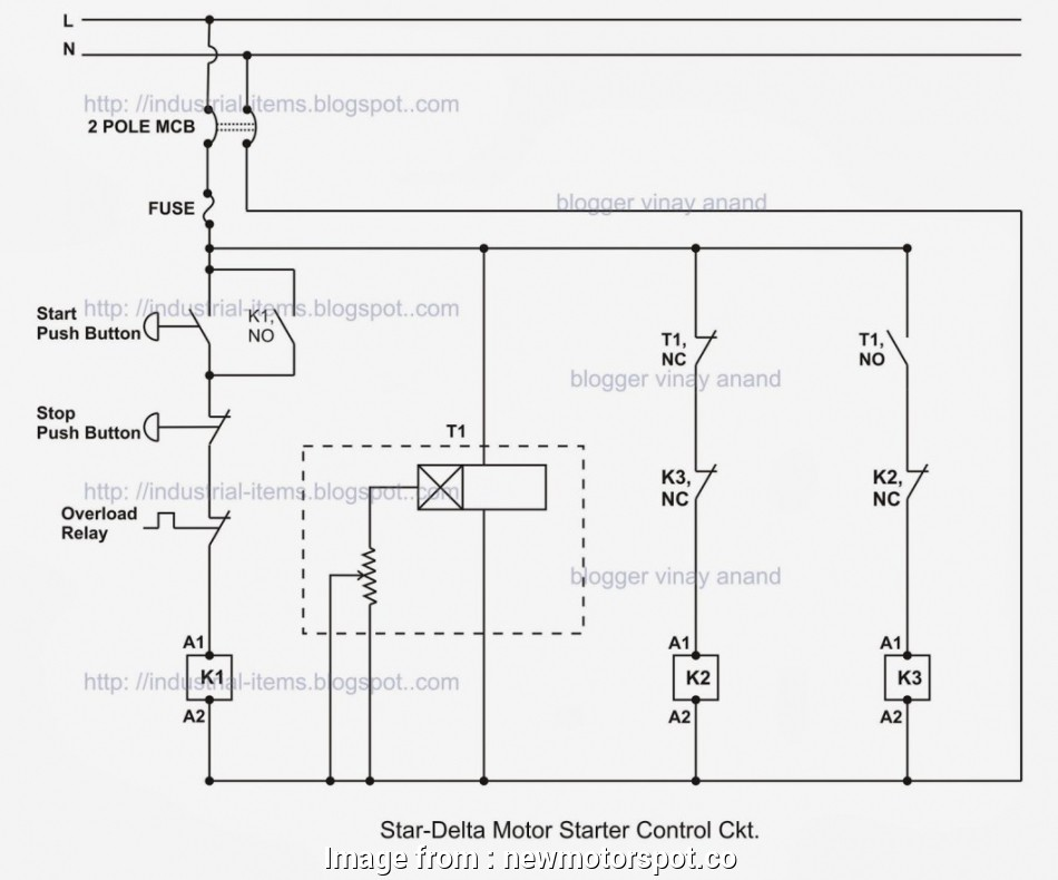 Star Delta Starter Wiring Diagram Explanation Pdf Creative 3 Phase Induction Motor Wiring