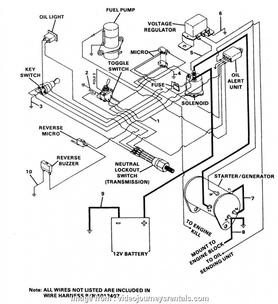 starter generator wiring diagram golf cart most club  starter generator wiring diagram  wiring