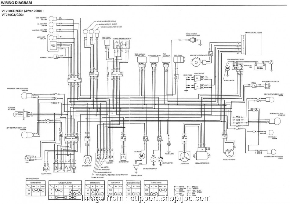 Starter Kill Wiring Diagram Most Honda Shadow Wiring