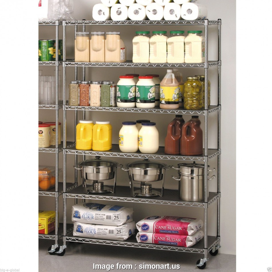 steel wire kitchen shelving Commercial Steel Wire Shelving, SimonArt Home Designs : Ideal 10 Popular Steel Wire Kitchen Shelving Pictures