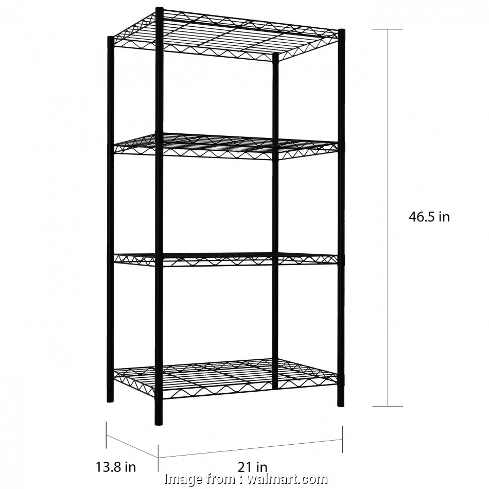 tall narrow wire shelving Home Basics 4-Tier Steel Wire Shelf, Black Tall Narrow Wire Shelving Fantastic Home Basics 4-Tier Steel Wire Shelf, Black Photos