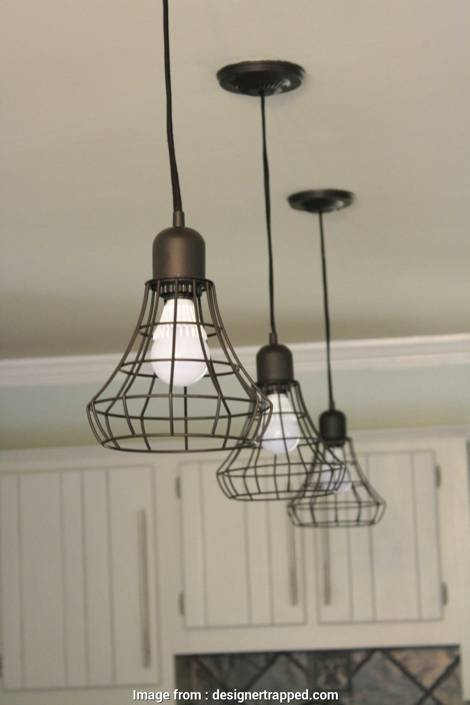 target wire pendant light WOW! Budget kitchen remodel by Designer Trapped in a Lawyer's Body. Totally transformed with 18 Professional Target Wire Pendant Light Ideas