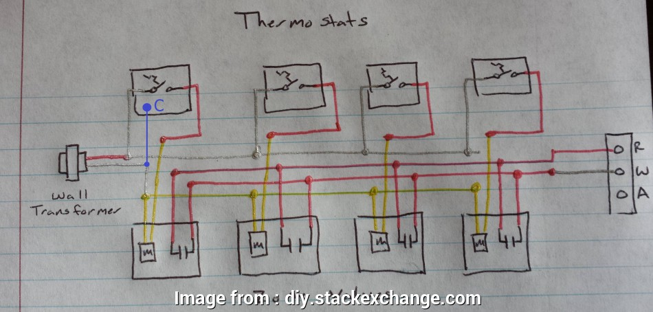 thermostat wiring diagram with c wire boiler, Where do I connect my C wire from my thermostat when 15 Creative Thermostat Wiring Diagram With C Wire Pictures