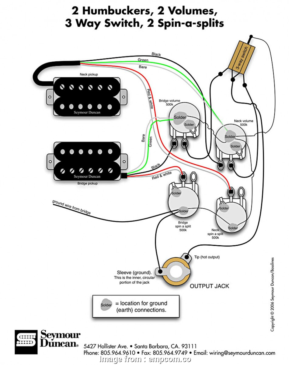 Three  Switch Wiring Colors Best Seymour Duncan Wiring
