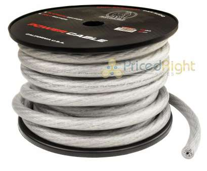0 gauge speaker wire Details about, Bullz Audio 0 Gauge 50 Ft Feet Power Wire Ground Cable Twisted Platinum 1/0 0 Gauge Speaker Wire Creative Details About, Bullz Audio 0 Gauge 50 Ft Feet Power Wire Ground Cable Twisted Platinum 1/0 Solutions