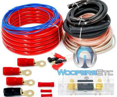 0 gauge wire amp kit 0 GAUGE 6000 WATT, PRO COMPLETE, WIRE AMPLIFIER INSTALL WIRING, O GA 8 New 0 Gauge Wire, Kit Photos