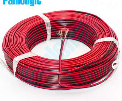 0 gauge wire to mm 5 Meters 2, Red, Black, Electronic Wire 0.75 Square mm, Parallel Copper Electronic Cable, LED Battery-in Wires & Cables from Lights & 16 Creative 0 Gauge Wire To Mm Collections