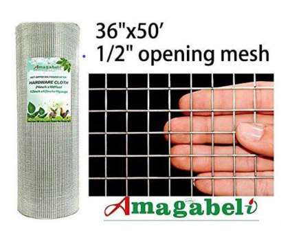1 2 inch square wire mesh Amazon.com : 36inx50ft, in 19gauge Hardware Cloth Galvanized Welded Cage Wire Mesh Rolls Square Chicken Wire Netting Raised Garden Beds Rabbit Fence 1 2 Inch Square Wire Mesh Most Amazon.Com : 36Inx50Ft, In 19Gauge Hardware Cloth Galvanized Welded Cage Wire Mesh Rolls Square Chicken Wire Netting Raised Garden Beds Rabbit Fence Pictures