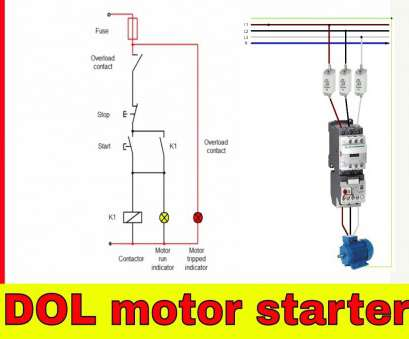 1 Phase Motor Starter Wiring Diagram Fantastic Single Phase Contactor Wiring Diagram, Releaseganji.Net Images