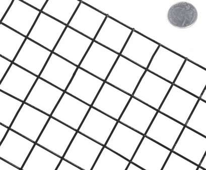 1 X1 Wire Mesh New 14 Gauge Black Vinyl Coated Welded Wire Mesh Size 1 Inch By 1 Inch Pictures