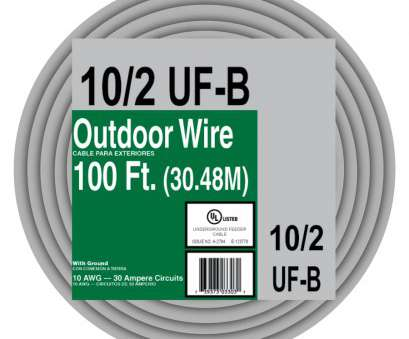 10 gauge stranded wire amp rating shop encore wire 10, 100 underground feeder wire at lowes, rh lowes, 10 10 Gauge Stranded Wire, Rating Fantastic Shop Encore Wire 10, 100 Underground Feeder Wire At Lowes, Rh Lowes, 10 Pictures
