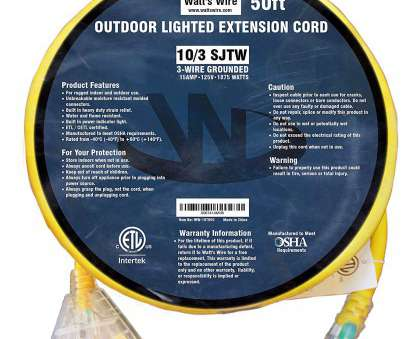 10 gauge wire on 15 amp breaker 50 ft 10 Gauge Heavy Duty Indoor Outdoor SJTW Lighted Triple Outlet Extension Cord by Watts Wire, Yellow 50 foot 10, Copper Lighted Multi Outlet 10 Gauge Wire On 15, Breaker Nice 50 Ft 10 Gauge Heavy Duty Indoor Outdoor SJTW Lighted Triple Outlet Extension Cord By Watts Wire, Yellow 50 Foot 10, Copper Lighted Multi Outlet Galleries
