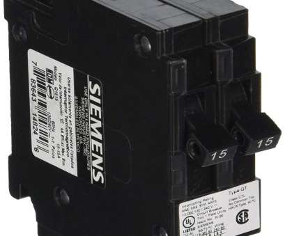 10 gauge wire on 15 amp breaker Siemens Q1515, 15-Amp Single Pole 120-Volt Circuit Breakers,, use only where Type QT breakers, allowed, Amazon.com 10 Gauge Wire On 15, Breaker Brilliant Siemens Q1515, 15-Amp Single Pole 120-Volt Circuit Breakers,, Use Only Where Type QT Breakers, Allowed, Amazon.Com Pictures