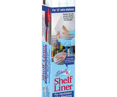 10 inch white wire shelving Amazon.com, Shelf-it Liner, 12