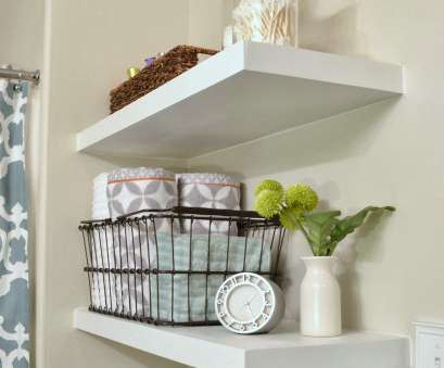 10 inch white wire shelving DIY Floating Shelves……a great storage solution!, Make It, Love It 10 Inch White Wire Shelving Cleaver DIY Floating Shelves……A Great Storage Solution!, Make It, Love It Galleries