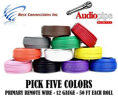 12 gauge 5 wire 12 GA GAUGE 50 FT ROLLS PRIMARY AUTO REMOTE POWER GROUND WIRE CABLE (5 COLORS) 12 Gauge 5 Wire Professional 12 GA GAUGE 50 FT ROLLS PRIMARY AUTO REMOTE POWER GROUND WIRE CABLE (5 COLORS) Ideas