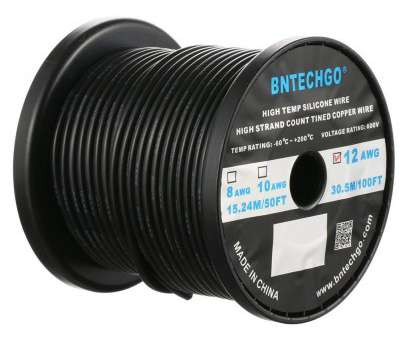 12 gauge 600v wire Amazon.com: BNTECHGO 12 Gauge Silicone Wire Spool Black, feet Ultra Flexible High Temp, deg C 600V 12AWG Silicone Rubber Wire, Strands of Tinned 12 Gauge 600V Wire Top Amazon.Com: BNTECHGO 12 Gauge Silicone Wire Spool Black, Feet Ultra Flexible High Temp, Deg C 600V 12AWG Silicone Rubber Wire, Strands Of Tinned Photos