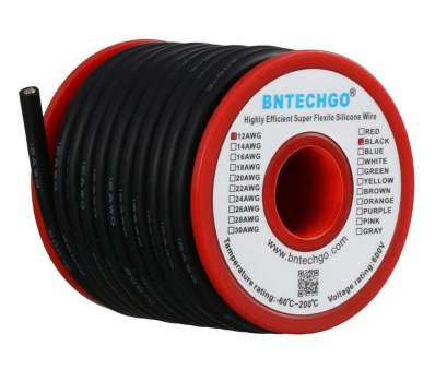 12 gauge 600v wire BNTECHGO 12 Gauge Silicone Wire Spool Black 25 feet Ultra Flexible High Temp, deg C 600V 12AWG Silicone Rubber Wire, Strands of Tinned Copper Wire 12 Gauge 600V Wire Most BNTECHGO 12 Gauge Silicone Wire Spool Black 25 Feet Ultra Flexible High Temp, Deg C 600V 12AWG Silicone Rubber Wire, Strands Of Tinned Copper Wire Solutions