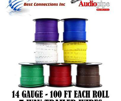12 gauge 7 conductor wire Amazon.com: Trailer Light Cable Wiring, Harness 100ft spools 14 Gauge 7 Wire 7 colors: Automotive 12 Gauge 7 Conductor Wire Creative Amazon.Com: Trailer Light Cable Wiring, Harness 100Ft Spools 14 Gauge 7 Wire 7 Colors: Automotive Solutions