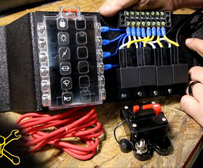 12 gauge automotive wire amp rating How To Make A Power Relay / Fuse Block, Automotive Wiring 12 Gauge Automotive Wire, Rating Perfect How To Make A Power Relay / Fuse Block, Automotive Wiring Ideas