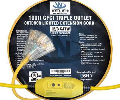 12 gauge electrical wire by the foot ... GFCI 12 Gauge, foot SJTW 3 Conductor Rugged Duty Lighted Indoor / Outdoor Extension Cord 12 Gauge Electrical Wire By, Foot Cleaver ... GFCI 12 Gauge, Foot SJTW 3 Conductor Rugged Duty Lighted Indoor / Outdoor Extension Cord Solutions