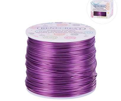 12 gauge purple wire Beebeecraft BENECREAT 12 Gage 100FT Aluminum Wire Anodized Jewelry Craft Making Beading Floral Colored Aluminum Craft Wire, Gauge, Purple) 20 Top 12 Gauge Purple Wire Photos