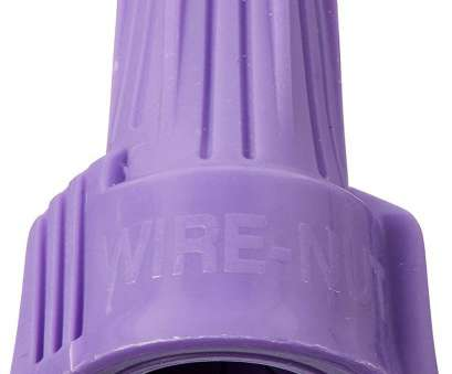 12 Gauge Purple Wire Most Amazon.Com: Ideal 30-765 Twister Al/Cu Wire Connector, Card Of, Home Improvement Galleries
