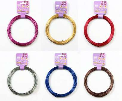 12 Gauge Purple Wire Nice BEADSMITH® 11.8M, Ft) ALUMINUM CRAFT WIRE 12 GAUGE Collections
