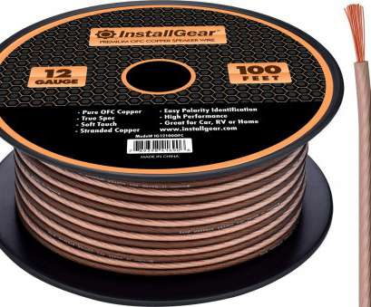 12 gauge speaker wire best buy Amazon.com: InstallGear 12 Gauge Speaker Wire, 99.9% Oxygen-Free Copper, True Spec, Soft Touch Cable (100-feet): Cell Phones & Accessories 12 Gauge Speaker Wire Best Buy New Amazon.Com: InstallGear 12 Gauge Speaker Wire, 99.9% Oxygen-Free Copper, True Spec, Soft Touch Cable (100-Feet): Cell Phones & Accessories Solutions