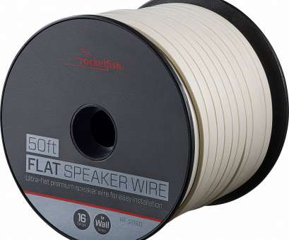 12 gauge speaker wire best buy Rocketfish™ -, Spool Ultra-Flat Speaker Wire, White 12 Gauge Speaker Wire Best Buy Simple Rocketfish™ -, Spool Ultra-Flat Speaker Wire, White Images