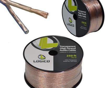 12 gauge speaker wire 250 ft Amazon.com: 12/2 250FT 12AWG GAUGE 2 CONDUCTOR TRANSPARENT HIGH STRAND SPEAKER WIRE AUDIO CABLE: Home Audio & Theater 10 Popular 12 Gauge Speaker Wire, Ft Pictures