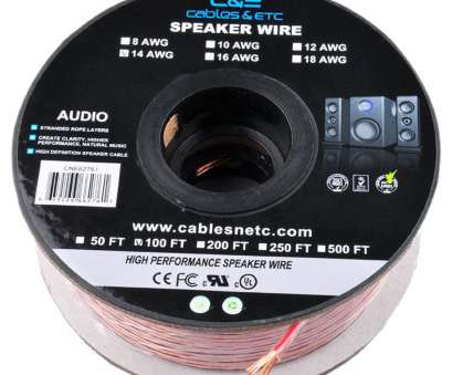 12 gauge speaker wire india ..., 100 Feet 14AWG Enhanced Loud Oxygen-Free Copper Speaker Wire Cable 18 Practical 12 Gauge Speaker Wire India Ideas