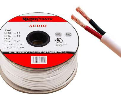 12 gauge speaker wire uk Mutec-Cable -Speaker Wire, 1.5mm² (16AWG), CL2 Rated UL Listed Oxygen Free Copper (For In-Wall Installation) 50 Meter 15 Most 12 Gauge Speaker Wire Uk Images