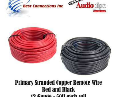 12 gauge wire 50 ft 12 GAUGE WIRE, & BLACK POWER GROUND 50 FT EACH PRIMARY STRANDED COPPER CLAD 8 Best 12 Gauge Wire 50 Ft Images