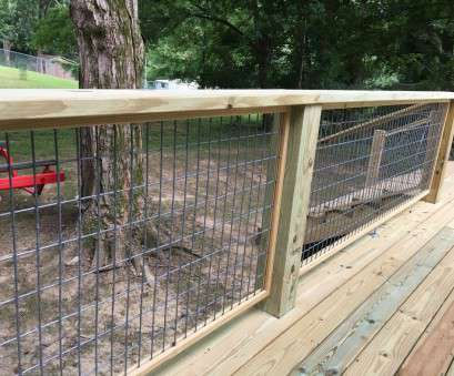 12 gauge hog wire deck railing with hogwire panels steps with pictures regarding proportions x with, wire panels 8 Popular 12 Gauge, Wire Images