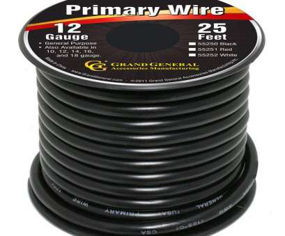 12 gauge wire amazon Amazon.com: Grand General 55250 Black 12-Gauge Primary Wire: Automotive 12 Gauge Wire Amazon Nice Amazon.Com: Grand General 55250 Black 12-Gauge Primary Wire: Automotive Solutions