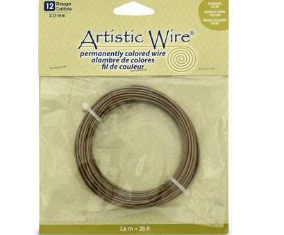 12 gauge wire amazon Artistic Wire 12 Gauge Wire, Antique Brass, 25-Feet 12 Gauge Wire Amazon Creative Artistic Wire 12 Gauge Wire, Antique Brass, 25-Feet Pictures