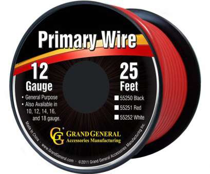 12 gauge wire amazon Grand General 55251, 12-Gauge Primary Wire 12 Gauge Wire Amazon Practical Grand General 55251, 12-Gauge Primary Wire Images