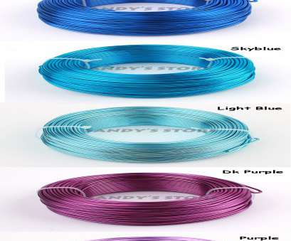 12 gauge wire color wholesale, 180ft 60yd of, colored aluminium handcraft soft wire coil 12 gauge wire, jewelry supplies free shipping-in Jewelry Findings & 12 Gauge Wire Color New Wholesale, 180Ft 60Yd Of, Colored Aluminium Handcraft Soft Wire Coil 12 Gauge Wire, Jewelry Supplies Free Shipping-In Jewelry Findings & Ideas