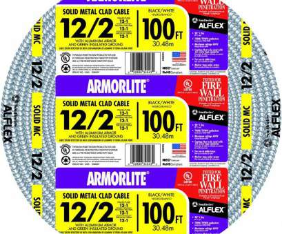 12 gauge wire equivalent 12/2 x, ft. Solid CU MC (Metal Clad) Armorlite Cable 12 Gauge Wire Equivalent Simple 12/2 X, Ft. Solid CU MC (Metal Clad) Armorlite Cable Ideas