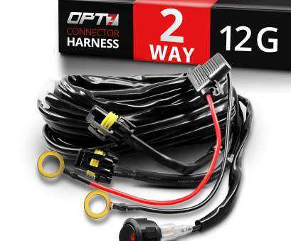 12 gauge wire harness Amazon.com: OPT7® 12 Gauge 500W Dual Wiring Harness w/Switch, LED Light Bars, 21ft Dimmer Strobe Waterproof Relay Splitter: Automotive 12 Gauge Wire Harness Professional Amazon.Com: OPT7® 12 Gauge 500W Dual Wiring Harness W/Switch, LED Light Bars, 21Ft Dimmer Strobe Waterproof Relay Splitter: Automotive Images