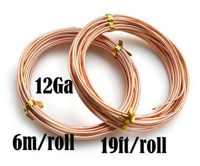 12 gauge wire for jewelry 12 Gauge wire,, thick Aluminum Craft Wire, Light Copper Color, 6m roll, 19Ft, colored wire, jewelry making, LC119 15 Perfect 12 Gauge Wire, Jewelry Galleries