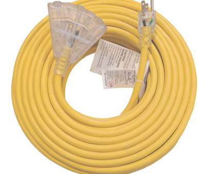 12 gauge wire amp limit 100 ft 12 Gauge Heavy Duty Indoor Outdoor SJTW Lighted Triple Outlet Extension Cord by Watts Wire, Yellow, foot 12, Copper Lighted Multi Outlet 12 Gauge Wire, Limit Cleaver 100 Ft 12 Gauge Heavy Duty Indoor Outdoor SJTW Lighted Triple Outlet Extension Cord By Watts Wire, Yellow, Foot 12, Copper Lighted Multi Outlet Collections